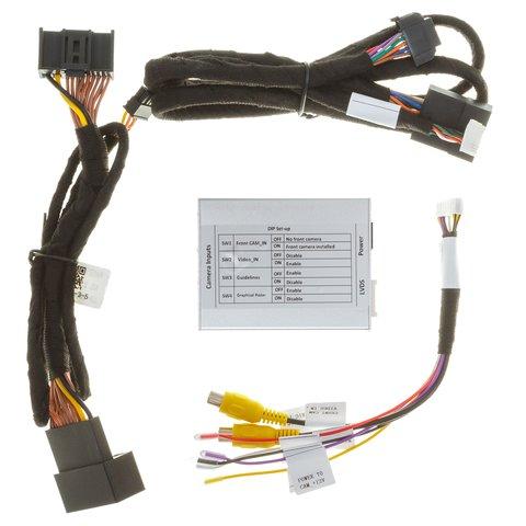 Адаптер під'єднання камери заднього і переднього виду для Audi A4/A5/Q3/Q5 без системи MMI Прев'ю 7