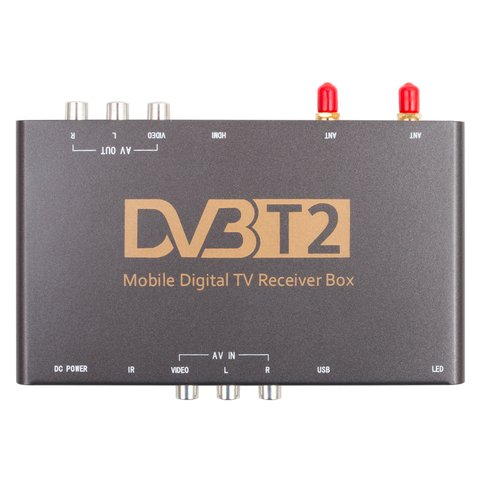 Car DVB-T2 HEVC TV Receiver with Video Input Preview 1