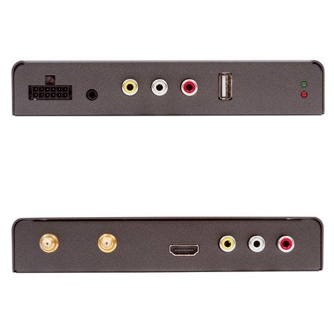 Receptor de TV digital para coche con entrada de video DVB-T2 HEVC Vista previa  2