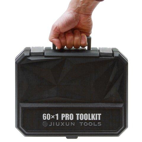 Набір інструментів Xiaomi Jiuxun Tools Toolbox Pro для дому (60 шт.) Прев'ю 5