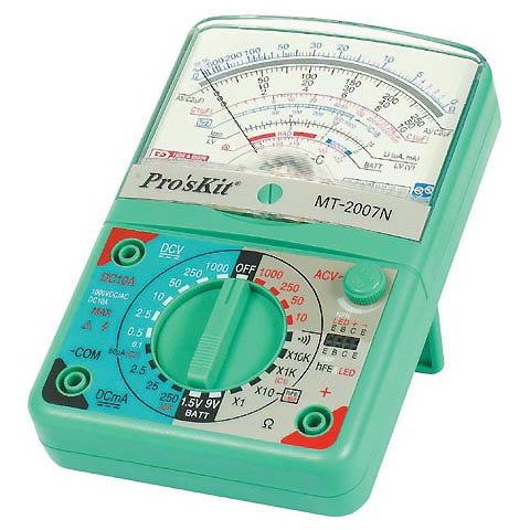 Analogue Multimeter Pro'sKit MT-2007N Preview 1