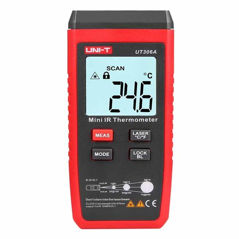 Infrared Thermometer UNI-T UT306A Preview 1
