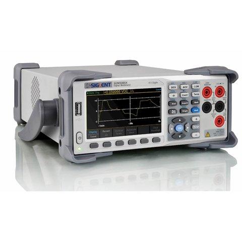 Digital Multimeter SIGLENT SDM3065X-SC with Multiplexer Preview 1