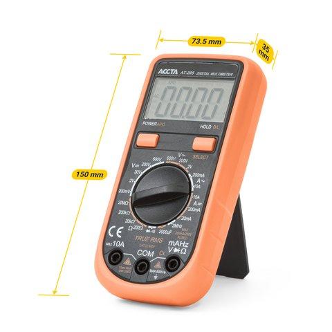Digital Multimeter Accta AT-205 Preview 1